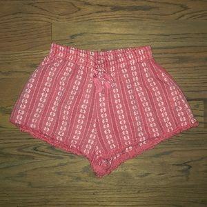 Pink Lush shorts